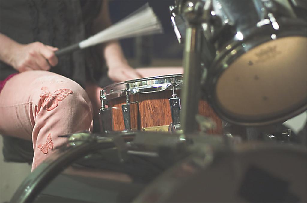 trommer-og-kne-lys